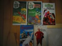 Selected Children's VHS Tapes