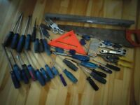 Well Over 40 Hand Tools
