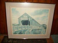 Print of Hartland Covered Bridge