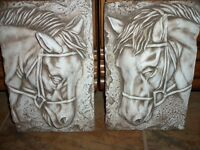 Hand made Horse Plaques