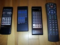 Remote controls - used, work