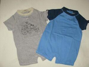 vêtements d'été pour garçon 0-3 mois