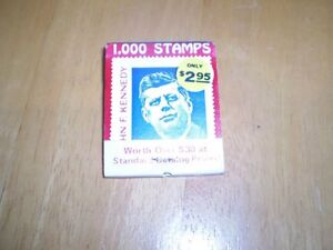 VINTAGE JOHN F KENNEDY BOOK OF MATCHES Windsor Region Ontario image 1