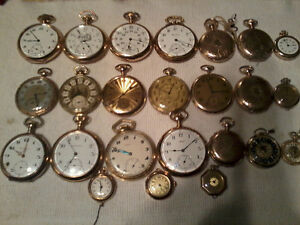 ANTIQUE VINTAGE POCKET WATCHES / ASST YEARS / 1885 - 1960 xxx City of Toronto Toronto (GTA) image 5