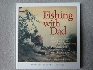 BRAND NEW - FISHING WITH DAD - HARDCOVER BOOK
