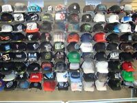 LICENSED/BRANDED HATS: RETAIL & WHOLESALE: FOX,HURLEY,NEW ERA+++