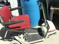Small 3 Wheel Scooter $100.00 as is REDUCED TO CLEAR