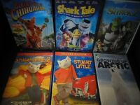 Selected Children's DVD's