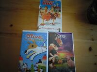Selected Children's VHS Movies