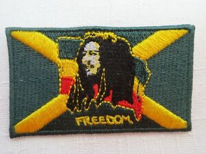Bob Marley Iron On Patches