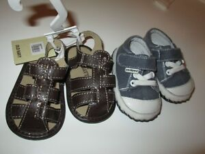 Baby Shoes - Sandals and PEDIPED runners size 2-3