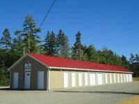 NEW SELF STORAGE UNITS, KINGSTON, NS AREA. CAR STORAGE AVAILABLE