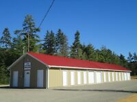 NEW SELF STORAGE UNITS, KINGSTON, NS AREA. PRICES START AT $49!