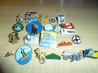 21 Different Collector Pins Lot #1