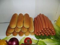HOT DOGS,BBQ SAUSAGES,DELIVERED TO HOTDOG CART, HOME OR BUSINESS