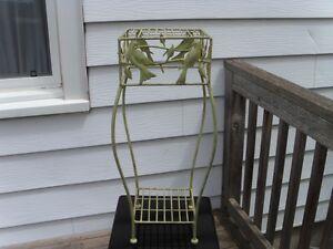 Whimsical Outdoor/Indoor 2-Tier Metal Table
