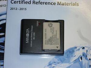 Chargeur MINOLTA BC-200 + batterie BP-200CL li-ion