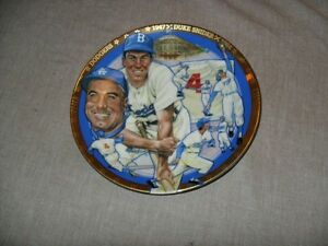 Collector Plate - Baseball Ltd Ed Dogers Snider+ Jays Bobblehead