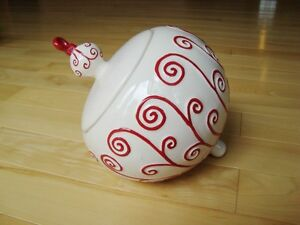 Real Home Earthenware Ornament  Cookie Jar- Perfect Condition