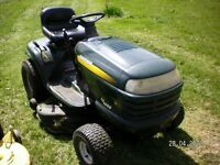 lawn mowers tillers tractors  wanted dead or alive