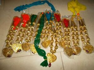 BRAND NEW Bhangra Necklaces 4 different sets -10 pieces each set