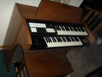 REDUCED TO CLEAR Baldwin Organ  Model 71 C and Bench $100.00
