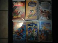 Selected Classic Disney VHS Movies