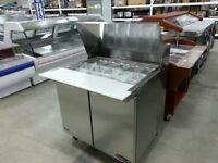 """36"""" Mega Top Salad Table, Restaurant Deli Equipment"""