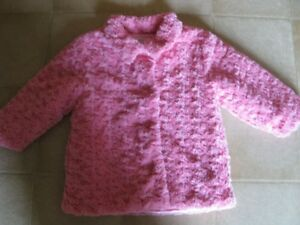 Beautiful Pink Rose Coat with matching hat ! (Size 3X)