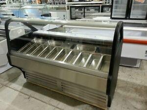 14 flavor gelato display case, Bakery Deli Restaurant Equipment