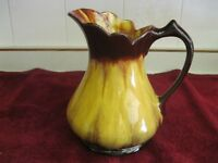 BLUE MOUNTAIN POTTERY HARVEST GOLD PITCHER OR JUG.