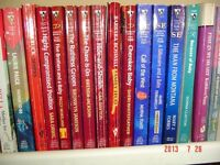 "DOZENS OF ""SILHOUETTE ROMANCE & DESIRE"" PAPERBACK NOVELS/BOOKS"