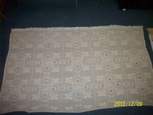 crochet blanket / couverture au crochet