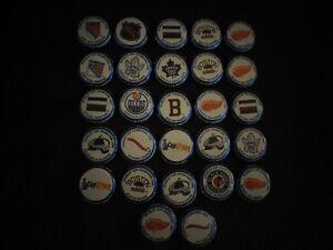 27 Assorted NHLLabatt Blue Stanley Cup Winning Teams Caps