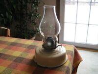 Antique Oil Lamp - English