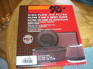 K & N Air Filter  RE-USABLE