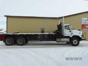 "2003 INTERNATIONAL 5600i WINCH TRUCK 313"" AT www.knullent.com Edmonton Edmonton Area image 1"