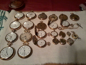 ANTIQUE VINTAGE POCKET WATCHES / ASST YEARS / 1885 - 1960 xxx City of Toronto Toronto (GTA) image 4