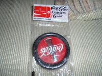 Brand New Package of Coke Coasters