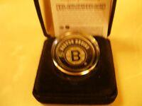 Colourized Boston Bruins Coin