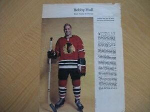 PHOTO JOURNAL PERSPECTIVES 1964 BOBBY HULL (C106)