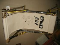 CLEAR-OUT Jays Argos Bruins Leafs signed Chair Hasek Jagr Hockey