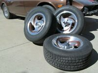 American Racing AR-39 Rims and P225/60 R14 Tires
