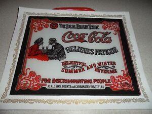 Coca Cola Glass Decoration Collectible