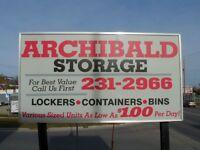 Indoor Storage * Great Rates * Clean * Secure*
