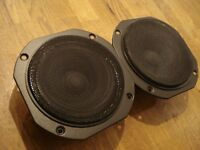 VINTAGE D5,AT-12 CERWIN VEGA WOOFER,MIDRANGE,TWEETER,CROSSOVER