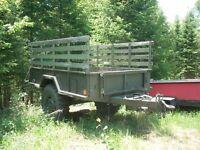 remorques - trailer militaire   1 ½ tonne