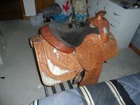 """Horse Saddle,Show Saddle 17"""""""