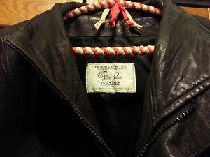 Mens Leather Bomber Jacket size 42-44 Cambridge Kitchener Area image 4