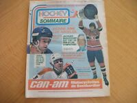 Journal complet HOCKEY SOMMAIRE Avril 1978 (C102)